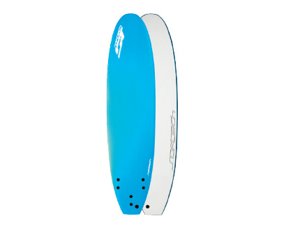 7'6 Hand Shaped Safe, soft and fun. Added length for stability & increased wave count LEARN MORE