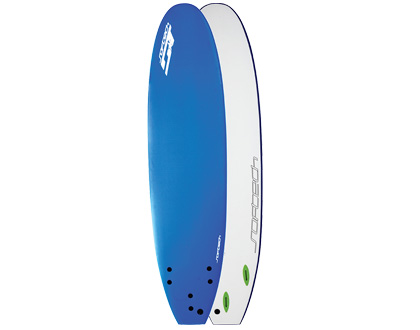 8'4 Hand Shaped Safe, soft and fun. Big Malibu board shape to make it easier to surf. LEARN MORE