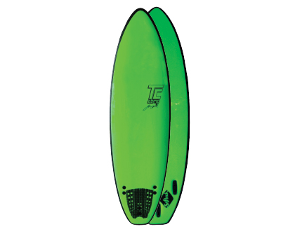 6'0 TC Comp DSS Tom Carolls Comp Model, featuring DSS 'Double Sided Slick' LEARN MORE