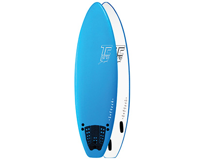 6'0 TC Pro The all rounder. The perfect mix of stability & speed. Fun in all surf. LEARN MORE