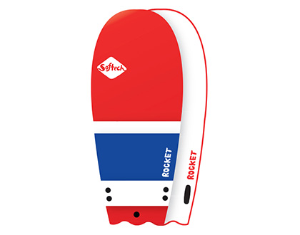 """52"""" Rocket For the trend setter looking for that uniqueness & extra fun in the water LEARN MORE"""