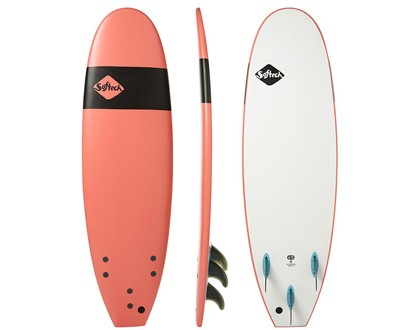 "Handshaped 6'0"" Softboard Safe, soft and fun. Great beginner template and shape. LEARN MORE"