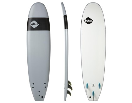 "Handshaped 7'6"" Softboard Safe, soft and fun. Great beginner template and shape. LEARN MORE"