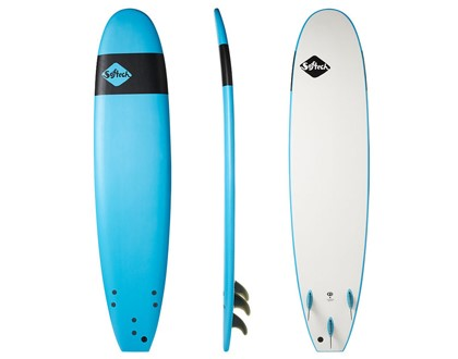 "Handshaped 8'0"" Softboard Safe, soft and fun. Great beginner template and shape. LEARN MORE"