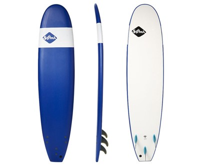 "Handshaped 8'4"" Softboard   Safe, soft and fun. Great beginner template and shape.    LEARN MORE"