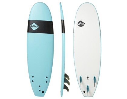 "Handshaped 7'0"" Softboard Safe, soft and fun. Great beginner template and shape. LEARN MORE"
