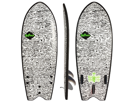 Kyuss King Fish Performance Softboard   A generously volumed fish with handshaped rails that will get you from A to B in a hurry.    LEARN MORE