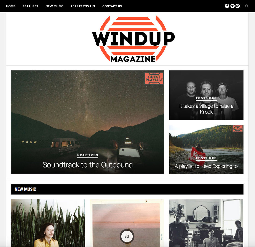 "WIND UP MAG<a href=""/area-of-your-site"">→</a><strong>FEATURE</strong>"