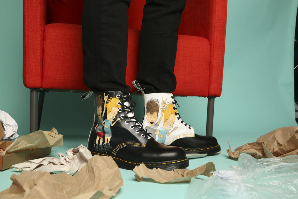Doc Martens x Beavis and Butthead Collab