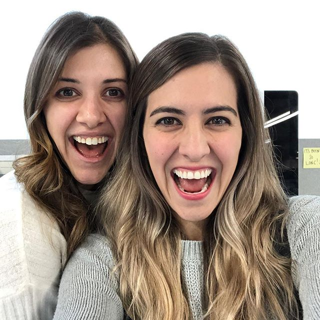 She's back from maternity leave!! So excited to start working with my sis! 🎉 she's the real deal. She cares for her team, fosters a warm and welcoming space, & is talented AF! Ottavis blood coming in strong 💁🏻‍♀️💁🏻‍♀️ #linkedin #linkedinlife