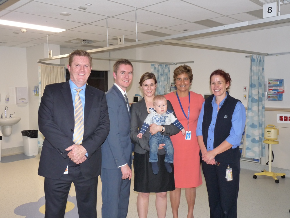 12 May 2014 - 37-bed paediatric ward for northern suburbs