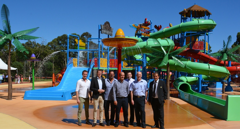14 March 2014 - Outback Splash Officially Opens