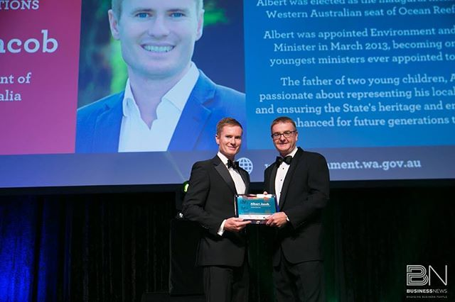 I was honoured to receive a 40under40 award last night for my work in public office to date. Well done to all the other award winners, I was privileged to be among such illustrious company. Thank you also to WA Business News for an outstanding evening.