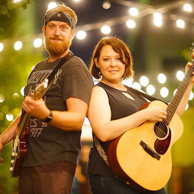 One week from today local singer/songwriters @guitarleys and @staciaabernatha grace our stage with their talent! Join us for First Friday, September 5th at 9:30PM. 🎤✨🌙