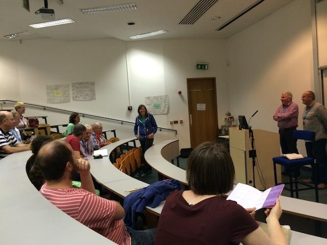 "Afternoon seminar on ""Reaching Ireland""."