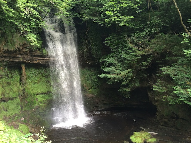 Afternoon outing to nearby Glencar Waterfall… beautiful!