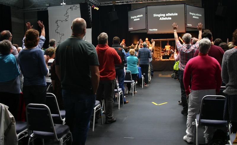 Worshipping together on Thursday morning at #sligo14