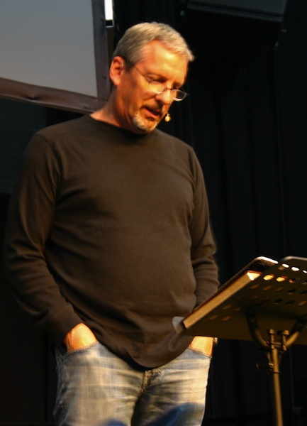 David Parker speaking on Thursday morning.