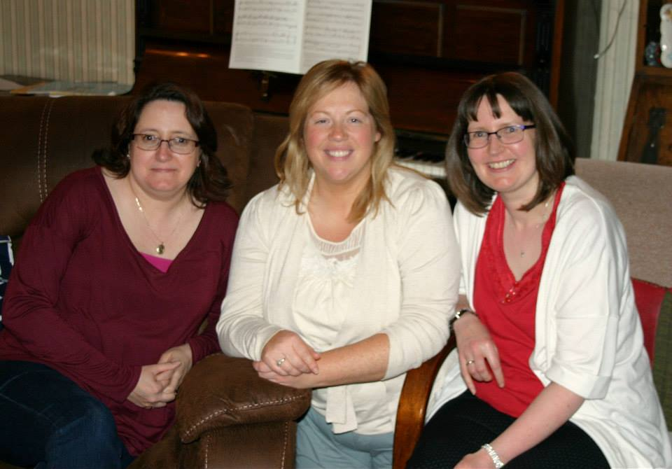 Tracey, Lizzie and Gayle