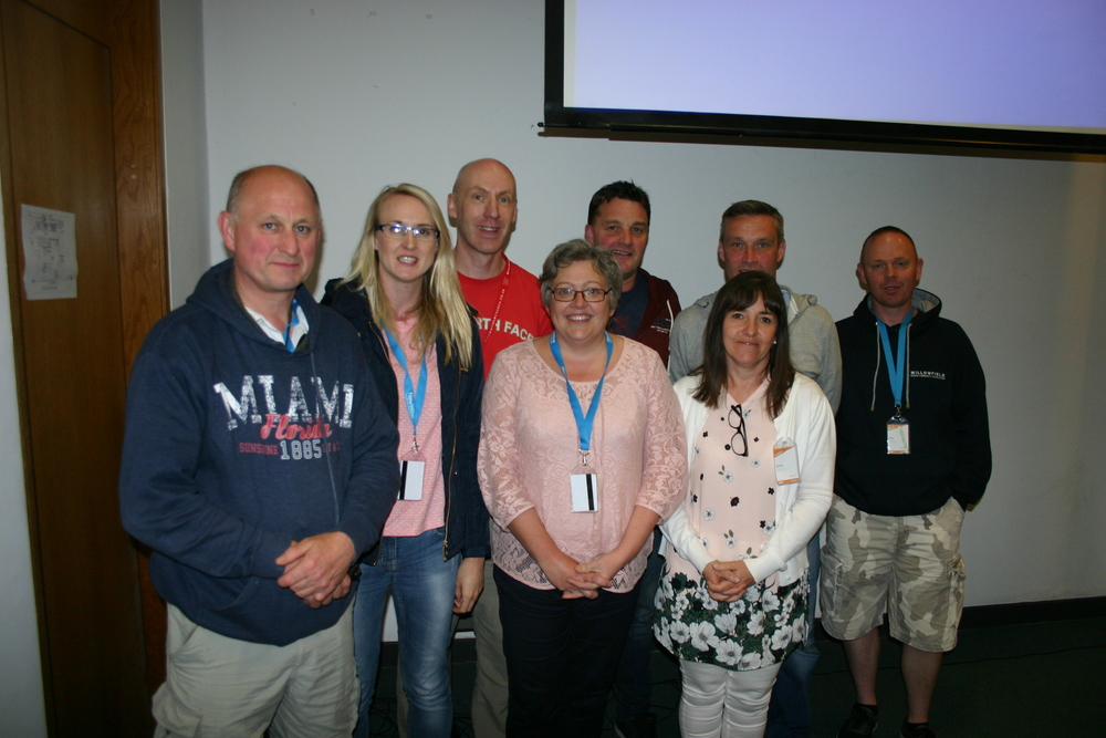 This group is coming to the end of their two-year course in evangelism with New Wine Ireland.
