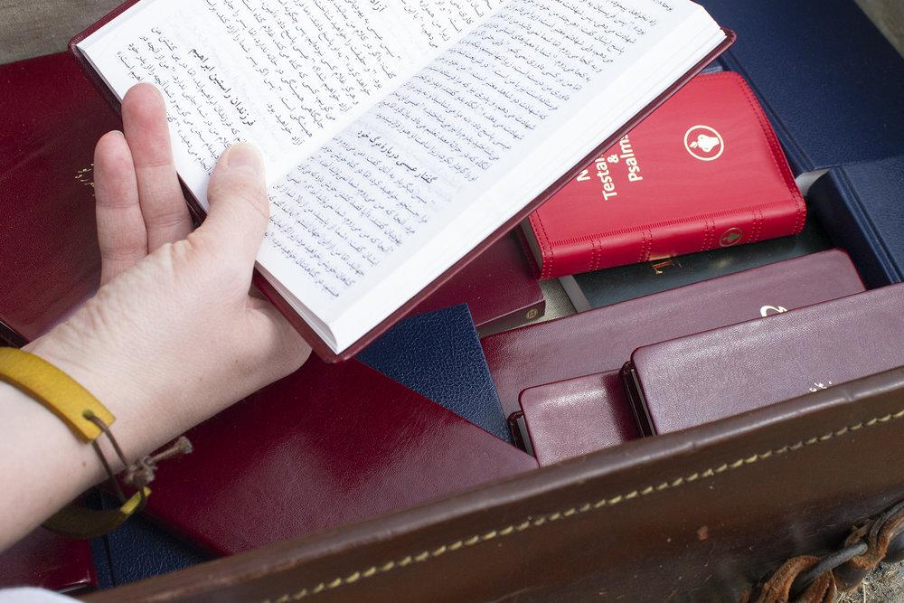 Bibles kept safe