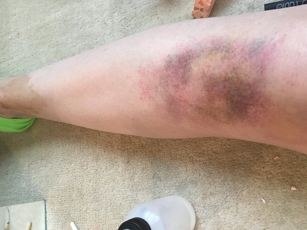 bruise made with mr dashbo ultimate fx palette