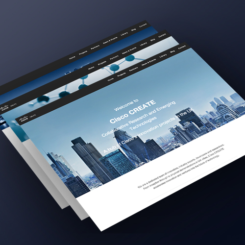 Responsive Web Design For Cisco Create