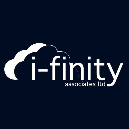 i-Finity Logo Design