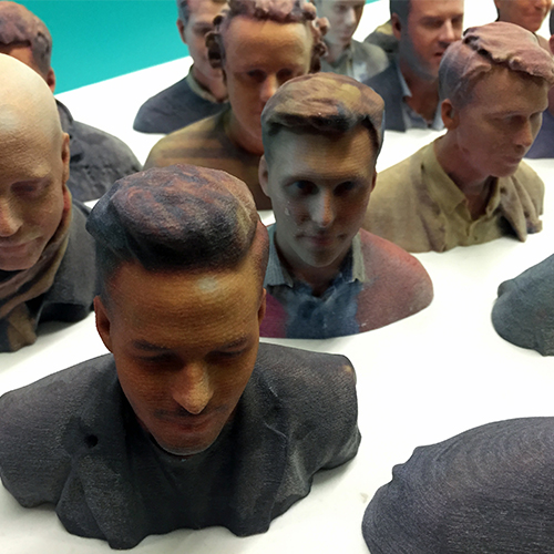 3D Printed Balderton Heads