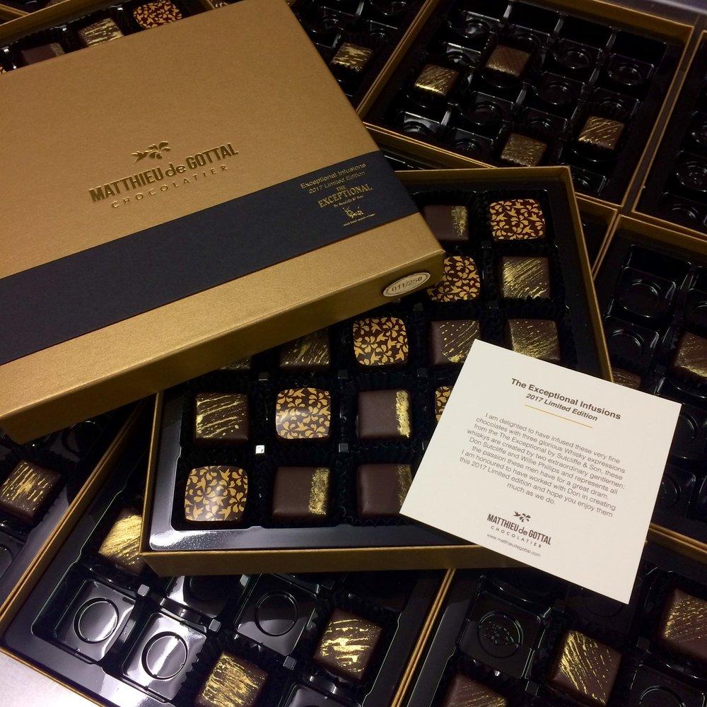 Matthieu De Gottal Chocolate Branding