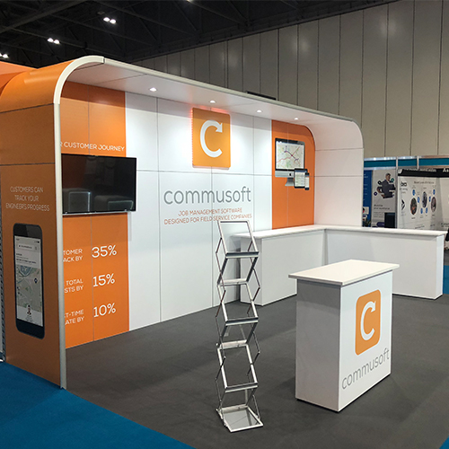 Commusoft sales stand