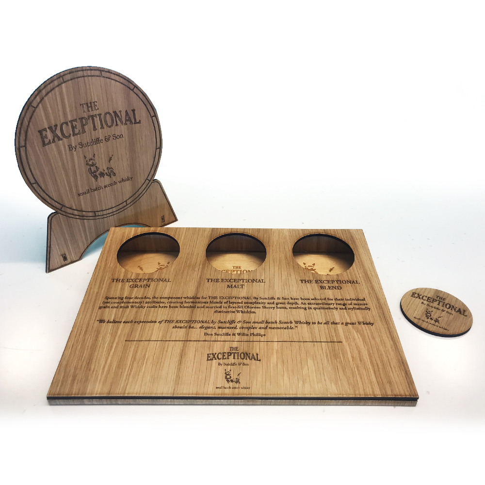 The exceptional whiskey Display stand