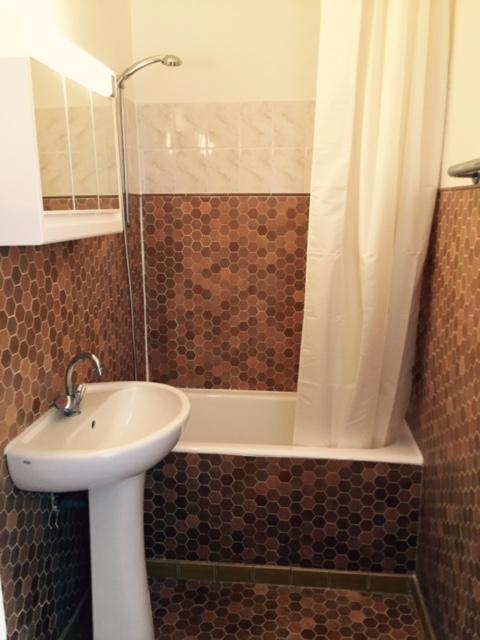 Salle de bain - état des lieux