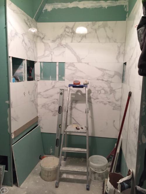 Transformation d\'une salle de bain — Madame Prune