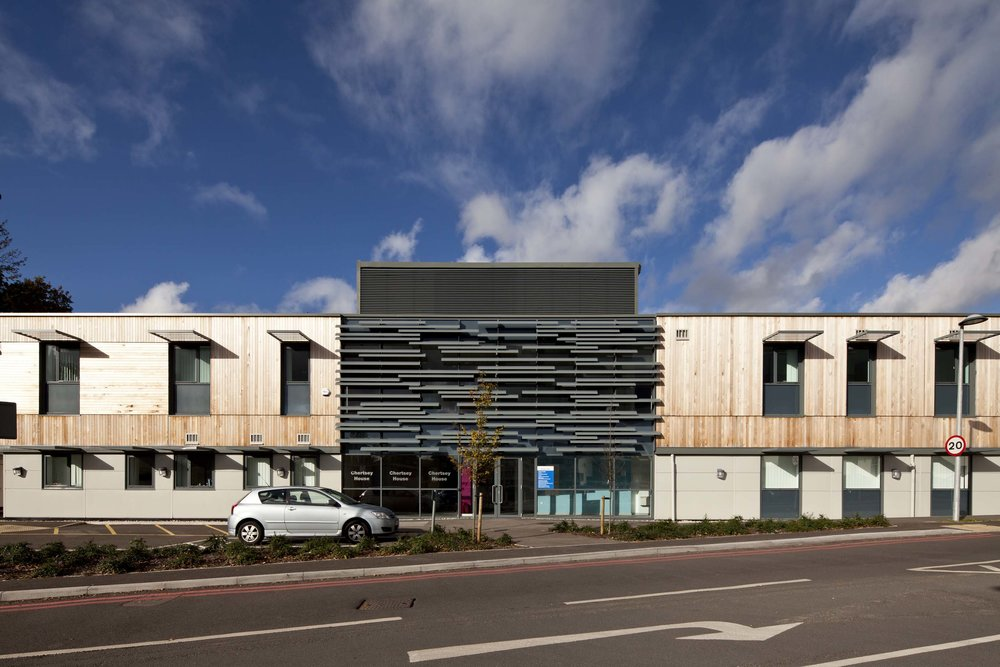 Ashford & St Peters Hospital, Chertsey, Surrey, London.    Read our case study
