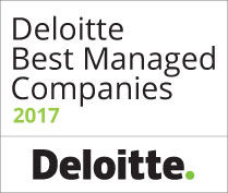 Winner - Deloitte Best Managed Companies 2015