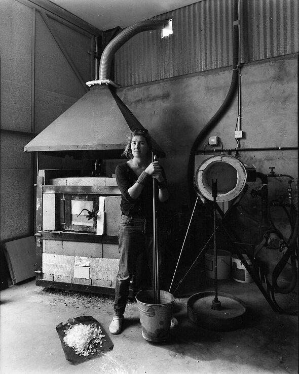 Emsie Sharp Glass Blower