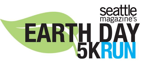 Photo courtesy of Seattle Magazine's Earth Day 5K Run website logo.