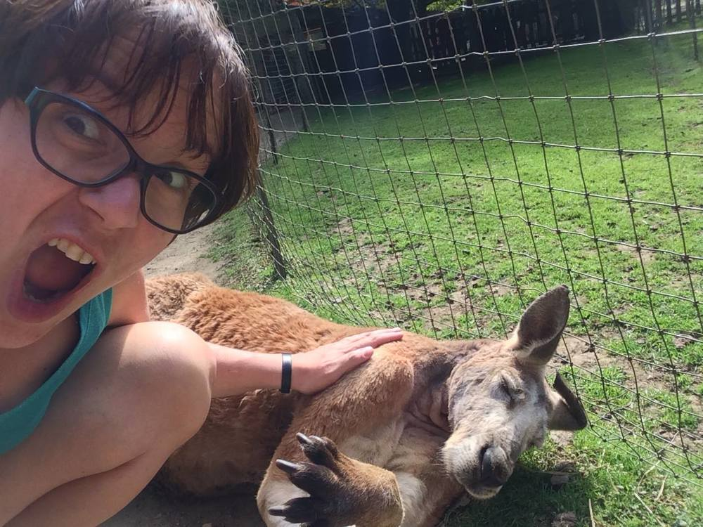 And 'Roo-petting.