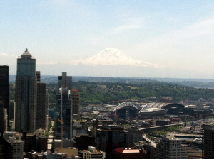 I really liked the view of Mt. Rainier the most.
