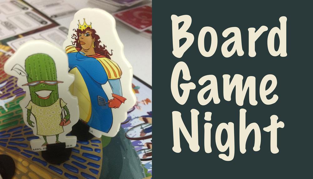 Board Game Night Logo Jan 15 Twif Board Game Night