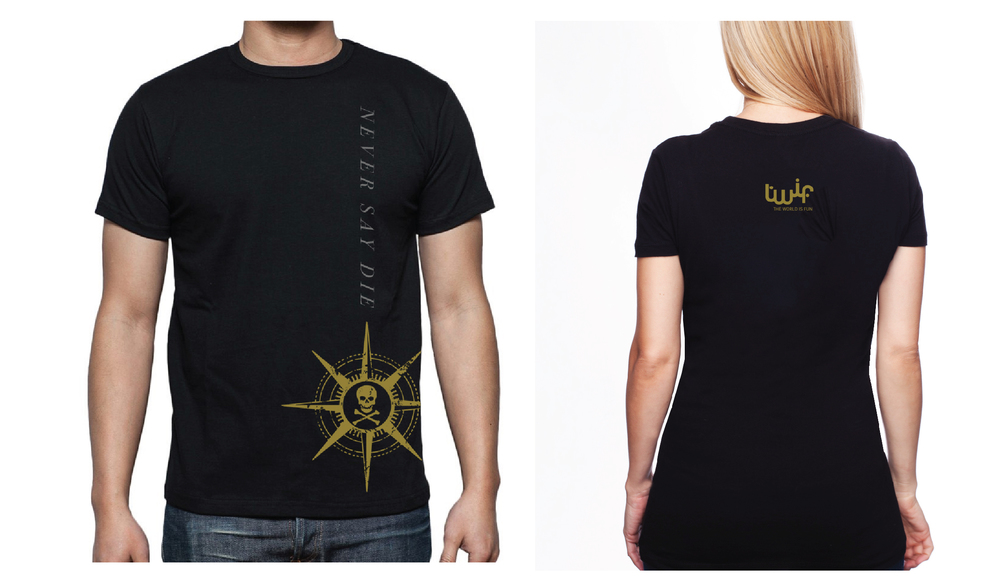 Exclusive Goonies/TWIF Volunteer Shirts!