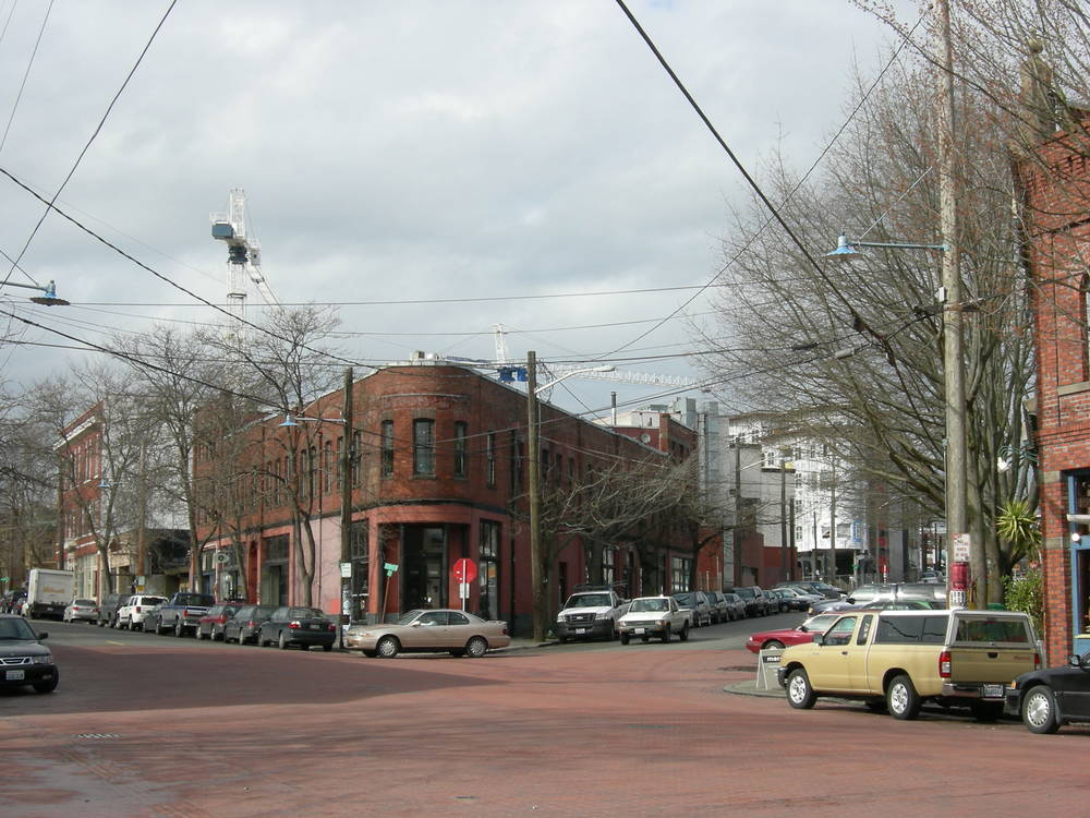 "The Junction Building in Ballard's Historic District. ""Ballard Ave 11"" by Joe Mabel. Licensed under CC BY-SA 3.0 via Wikimedia Commons - http://commons.wikimedia.org/wiki/File:Ballard_Ave_11.jpg#/media/File:Ballard_Ave_11.jpg"