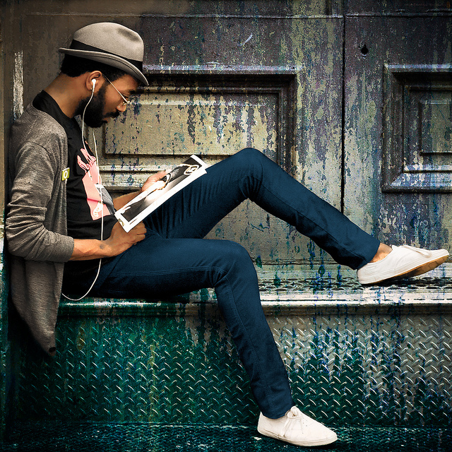 """""""Hipster"""" by Joel Bedford. Licensed under CC BY-ND 2.0 by Flickr Creative Commons."""