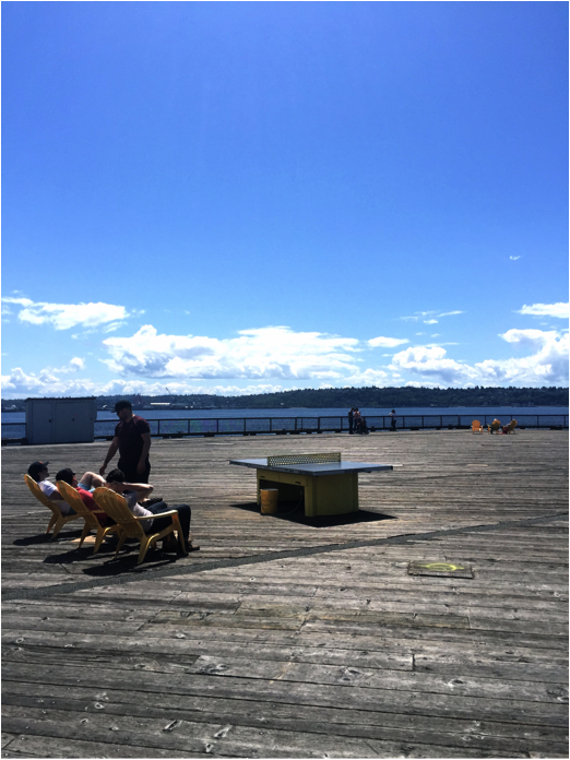 Pier 62 Ping Pong Tables