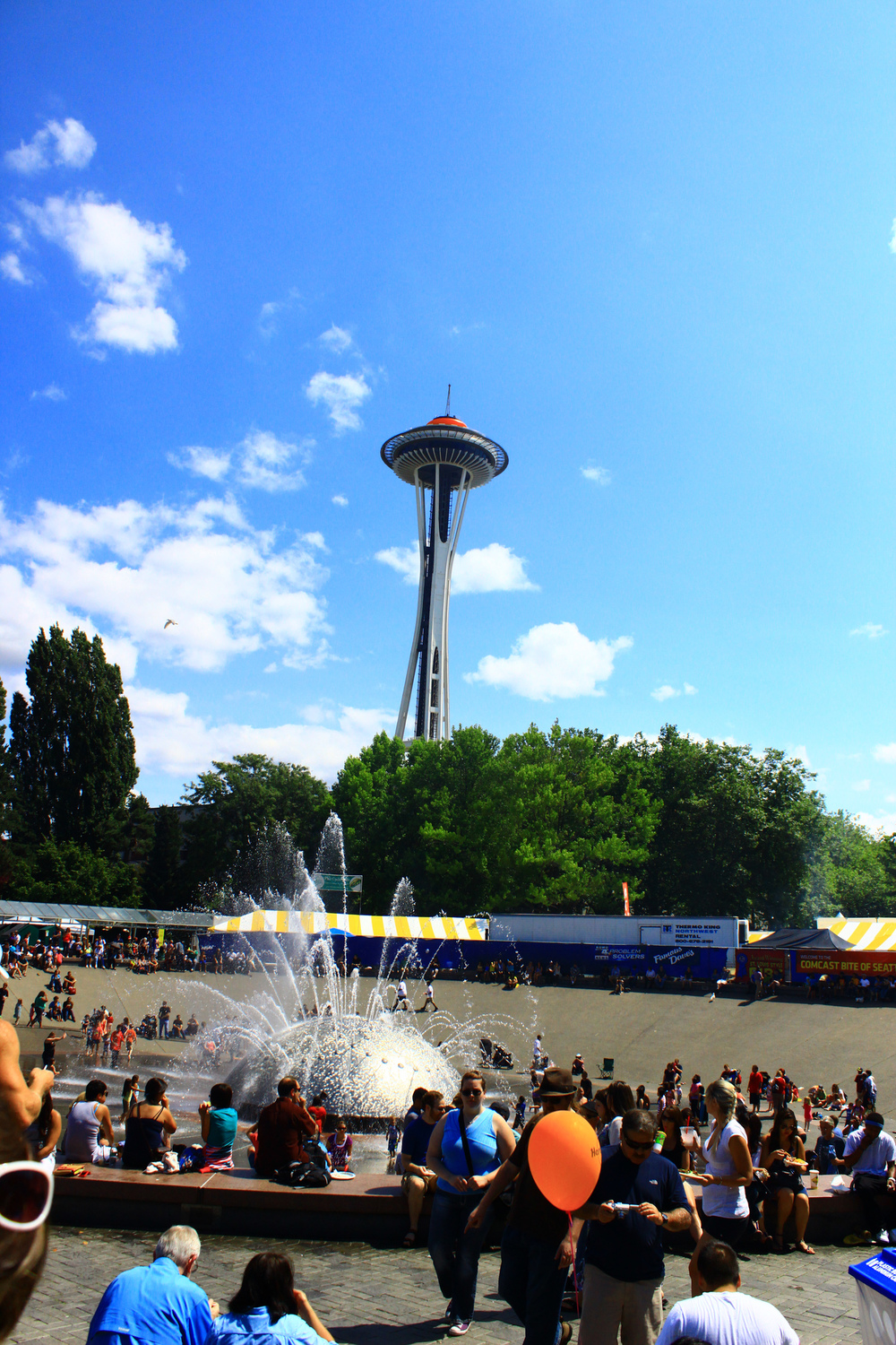 """International Fountain at Seattle Center,"" by Bradley Gordan. Licensed under Attribution 2.0 Generic (CC BY 2.0)."