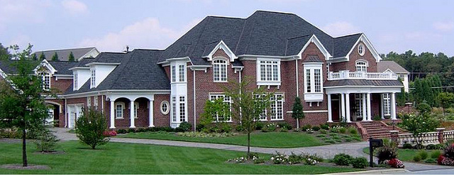 """""""McMansion,"""" by Elana Centor. Licensed under Attribution-ShareAlike 2.0 Generic (CC BY-SA 2.0)."""
