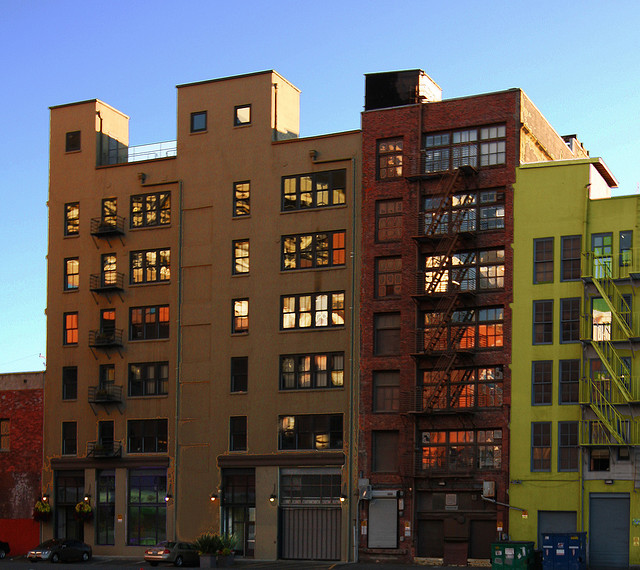 """Seattle Lofts,"" by Rennett Lowe. Licensed under Attribution 2.0 Generic (CC BY 2.0)."