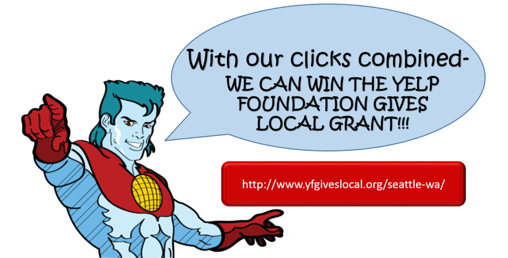 Captain Planet... er..... TWIF needs your votes! Please click and cast your vote for us daily!