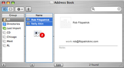Mac Export vCard Address Book